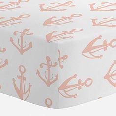 Carousel Designs Peach Anchors Crib Sheet Carousel Designs http://www.amazon.com/dp/B01CH1042I/ref=cm_sw_r_pi_dp_c0snxb1NE3RG3