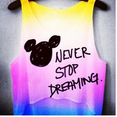 Disney shirt- I could do this so easily!