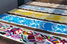 OTOMI TABLE RUNNER (Thin)  - Available in Multi Colour  - Ready to Ship