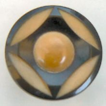 Tagua Nuts button = vegetable ivory