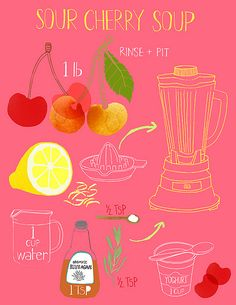 makes me wish I could illustrate all my favorite recipes!