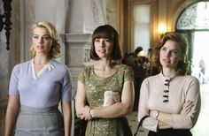 "Laura (Margot Robbie), Colette (Karine Vanasse), and Kate (Kelli Garner) in Pan Am 1.5: ""One Coin in a Fountain"""