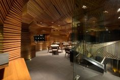 HIGHLY COMMENDED, Bars & Restaurants: Auriga in Mumbai, India by SANJAY PURI ARCHITECTS