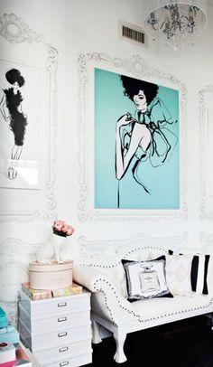 Megan Hess' home interior