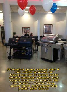 La gran venta del 4 de Julio  6551 Centennial Center Blvd  las Vegas Nevada 89149 Donde El Jefe dice menos.  1800 608 6242