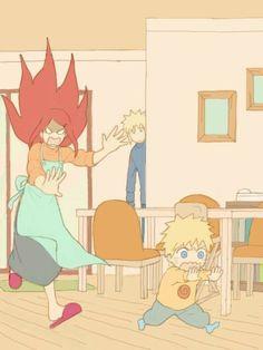Minato , Kushina e Naruto Uzumaki Family Naruto Uzumaki Shippuden, Naruto Shippuden Sasuke, Naruto Kakashi, Naruto Comic, Boruto, Naruto Fan Art, Naruto Anime, Naruto Cute, Gaara
