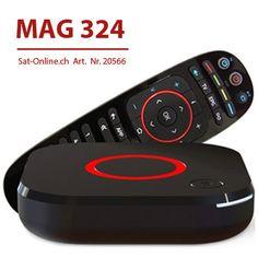 IPTV MAG 324 VOD OTT Streambox Linux, Set Top Box, Software, 3d Video, Audio, Usb, Industrial Design, Remote, Tv