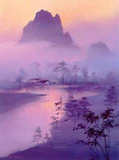 bisant | Пейзажи китайского художника Hong Leung