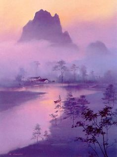 'Li River Morning' by Hong Leung