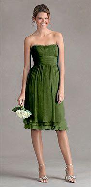 + clementine + chocolate --> http://www.jennyyoo.com/crinkle_chiffon21.html #dress #bridesmaid