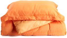 3-Piece Comforter Set, Tangerine
