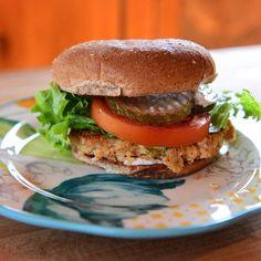 Salmon Burgers By Ree Drummond