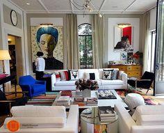 Isso é um Salão de Estar viu? #casacor #casacorrj Paola Ribeiro - Living