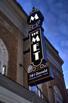 MET Theatre Winnipeg 2016 designed and manufactured by electrasign.com Blade Signage, Vintage Neon Signs, Adventure Travel, Theatre, Canada, Google Search, Inspiration, Beautiful, Ideas
