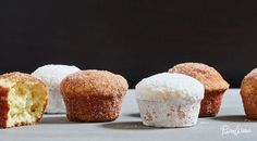 Doughnut Muffins: look fun to cook and serve on special occasions (and when trying to get as fat as possible!)