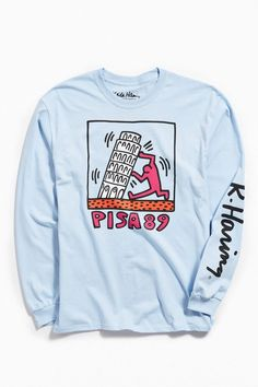 38545e59a Slide View: 1: Keith Haring Pisa Long Sleeve Tee