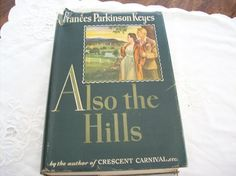 Vintage 1943 first edition Also The Hills by by vintagecitypast, $10.00