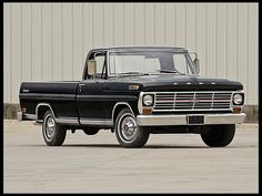 1969 Ford F100 Ranger. One day I will own an old pick up truck.