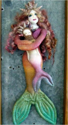 Artist of the Month - Doll Street Dreamers - online doll classes and mixed media art classes