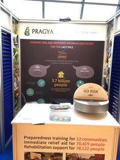 Pragya stall at the World Humanitarian Summit Innovation Marketplace, Istanbul, Turkey. Visit to learn more. Booth No.14 Floor: B1