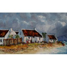 WORKING OUTSIDE:(oil on canvas: x ) in the Paintings category was listed for on 13 Jul at by Louis Pretorius in Cape Town Landscape Art, Landscape Paintings, Landscapes, Fishermans Cottage, South African Art, Good Neighbor, Painting Videos, Kinds Of Music, Oil On Canvas