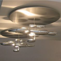 Cool futuristic over head lighting