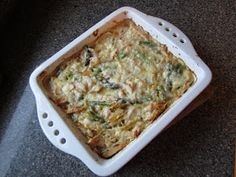 Pie Birds, Buttons and Muddy Puddles: Chicken Asparagus Pasta Bake