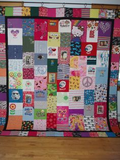MADE TO ORDER Quilts from your baby clothes and pictures by BarbMalmTshirtQuilts on Etsy