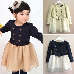 Discount China china wholesale Girl Dress Long Sleeve Tutu Kids Clothes S1-6Y Baby Party Costume Cute 2 Color [60009] - US$12.49 : DealsChic