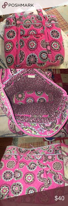 Vera Bradley bag Pink Vera Bradley Vera Bradley Bags Totes