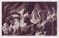 Tetuán: Tipos populares (Protectorado Español en Marruecos). Naviera alemana CM&S (Años 30) - Foto 1