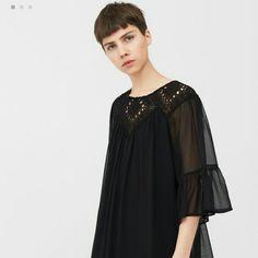 Black Boho Dress Or Top