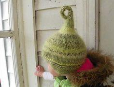 Boy elf hat newborn hat baby hat winter accessory boondocks babies cindy lou who costume