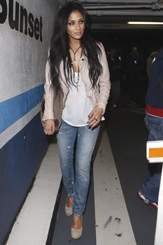 Nicole Scherzinger  out and about...