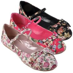Brinley Co Womens Bow Accent Mary Jane Ballet Flat http://amzn.to/HLmatH