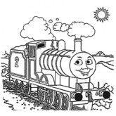 Free Printable Thomas the Train Coloring Pages | For the Kiddos ...