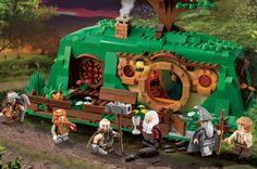 OFERTA MEELOW - Lego El Hobbit una reunión inesperada. Monta la cena en casa de Bilbo.