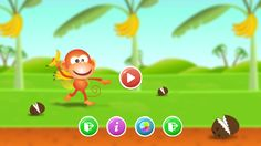 Play with the smooth tapping & control a #monkey to earn the points in MON-JI