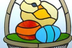 witrażowy koszyczek wielkanocny - Szukaj w Google