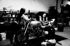 Custom motorcycle CBX1000 1981