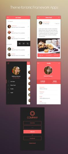 ionSunset - Ionic themes apps - ui