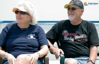 A happy couple enjoys their day trip to Smith Island on board the Chelsea Lane Tyler. Island Cruises, Smith Island, Day Trip, Maryland, Chelsea, Couples, Board, Happy, Couple