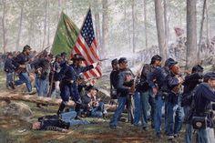 Image result for civil war infantry art prints