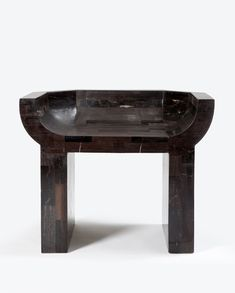 Curial Chair | Rick Owens | 2011 | Petrified wood | 33 × 26 × 23 inches (84 × 66 × 58 cm)