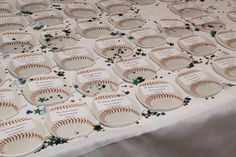 Table Seating for Bar Mitzvah Baseball themed