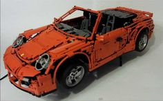 Lego Porsche 911 Turbo Cabriolet with working PDK is unreal