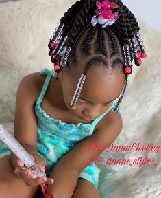 Little Girl Braid Styles, Kid Braid Styles, Little Girl Braids, Braids For Kids, Girls Braids, Kid Braids, Tree Braids, Toddler Braided Hairstyles, Black Kids Hairstyles