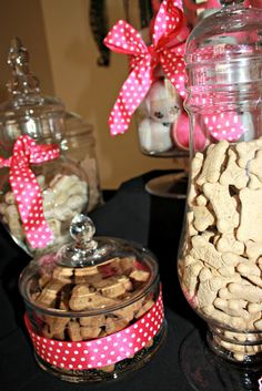 Treats for the pups who attend the benefit :)