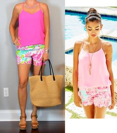 outfit post - las vegas: pink reversible cami, scalloped pink print shorts, brown sandals http://outfitposts.com/2016/06/outfit-post-las-vegas-pink-reversible-cami-scalloped-pink-print-shorts-brown-sandals.html?utm_campaign=coschedule&utm_source=pinterest&utm_medium=Outfit%20Posts&utm_content=outfit%20post%20-%20las%20vegas%3A%20pink%20reversible%20cami%2C%20scalloped%20pink%20print%20shorts%2C%20brown%20sandals