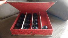 Caixa multiuso neste caso usada para capsulas de cafe